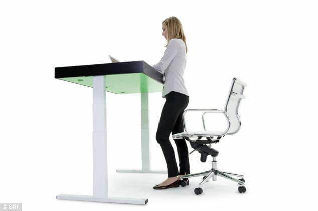 Lavorare seduti fa male alla salute? arrivano le postazioni in piedi