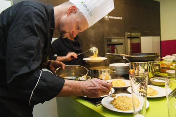 A scuola per diventare grandi Chef