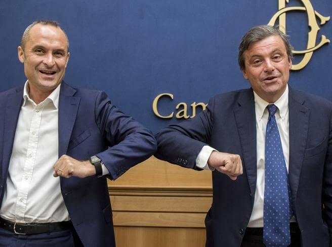 Da sinistra, Enrico Costa e Carlo Calenda