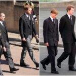 William e Harry, insieme come ai funerali di Lady Diana. Possibile riappacificazione? (Fotogallery)