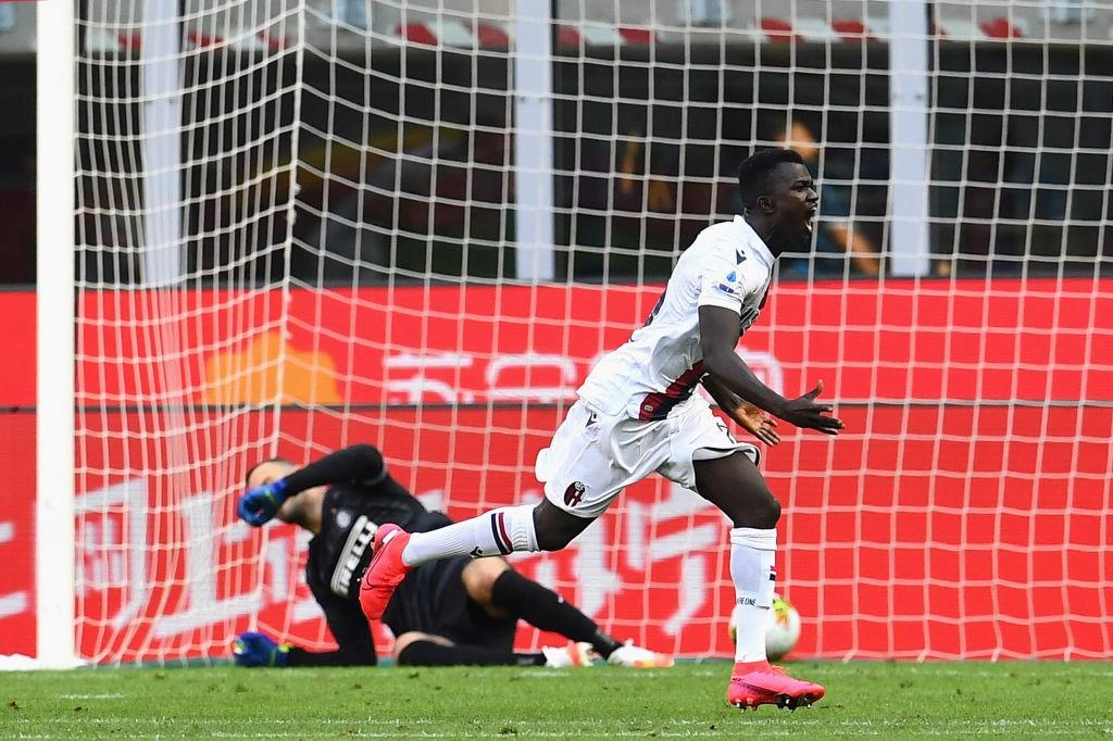 Il calciatore Musa Juwara