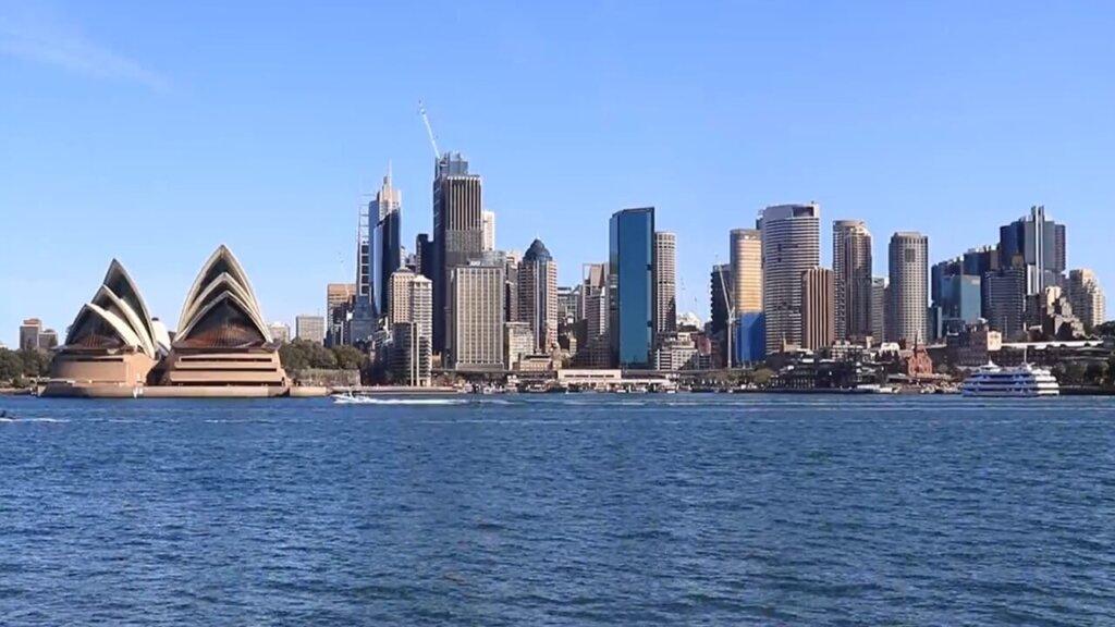 Una città australiana in una foto