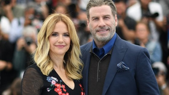 John Travolta e Kep Kelly Preston