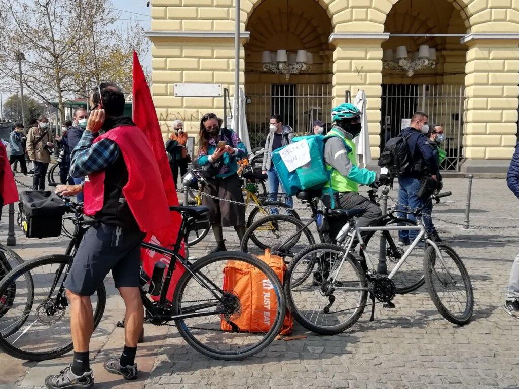 sciopero nazionale rider